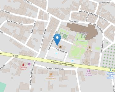 Adresse Caf de la Creuse - Accueil Chambon sur Voueize