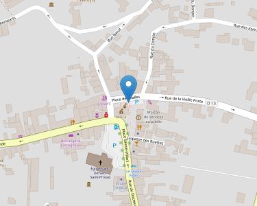 Adresse Caf de l'Indre-et-Loire - MSAP Le Grand Pressigny