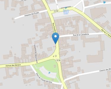 Adresse Caf de l'Indre-et-Loire - MSAP Ligueil