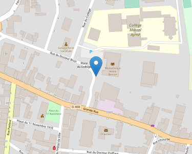 Adresse Caf du Jura - MSAP Chaussin