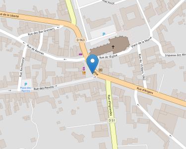 Adresse Caf du Maine-et-Loire - Point-relais Le Louroux Beconnais