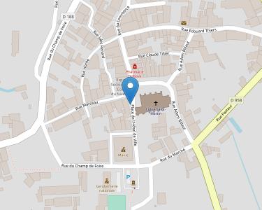 Adresse Caf de la Nière - MSAP St Saulge