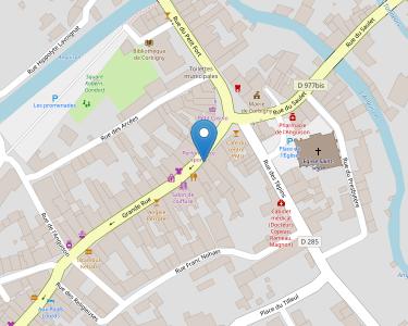 Adresse Caf de la Nière - MSAP Corbigny