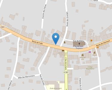 Adresse Caf du Puy-de-Dôme - MSAP Bourg Lastic