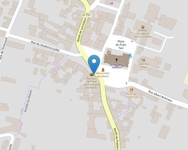 Adresse Caf de la Vienne - MSAP Vendeure du Poitou