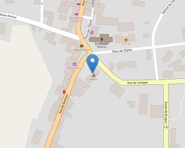 Adresse Caf de la Haute-Vienne - MSAP Saint-Mathieu