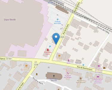 Adresse Caf des Vosges - MSAP de Arches