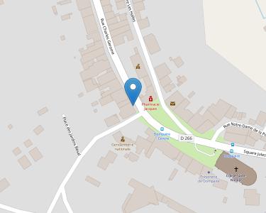 Adresse Caf des Vosges - MSAP de Dompaire