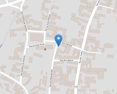 Adresse Caf de l'Yonne - MSAP Sergines