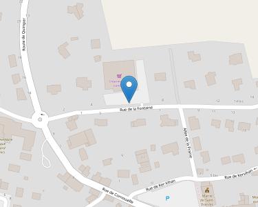 Adresse SERVICES A DOMICILE CORNOUAILLE