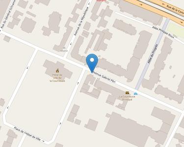 Adresse CCAS DE LA COURNEUVE