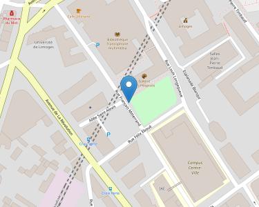 Adresse CCAS DE LIMOGES