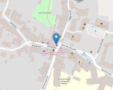 Adresse CCAS DE LUDRES